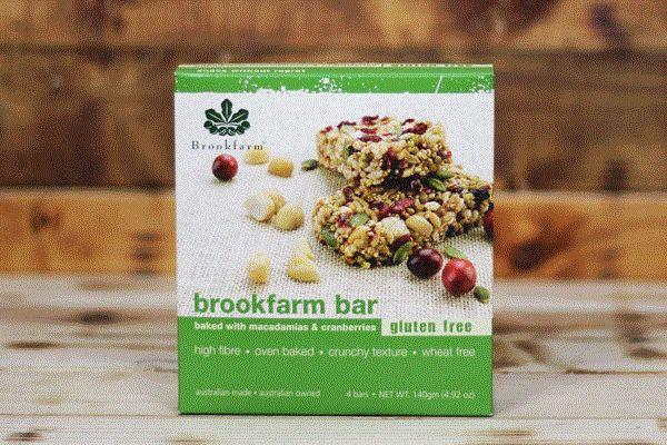 Brookfarm Gluten Free Multipack Bar 4x35g Pantry > Granola, Cereal, Oats & Bars