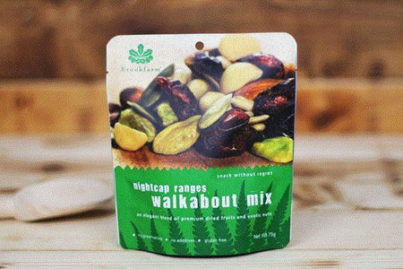 Brookfarm Gluten Free Nightcap Range Walkabout Mix 75g Pantry > Dried Fruit & Nuts