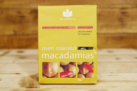 Brookfarm Kashmiri Chilli Macadamias Nuts 100g Pantry > Dried Fruit & Nuts
