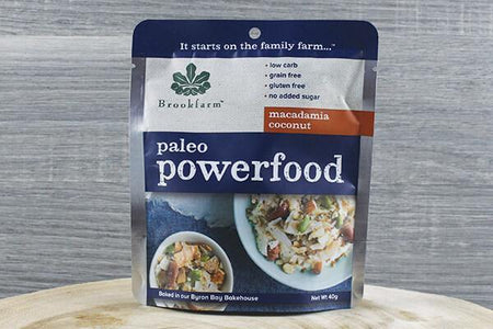 Brookfarm Paleo Macadamia Powerfood 40g Pantry > Granola, Cereal, Oats & Bars