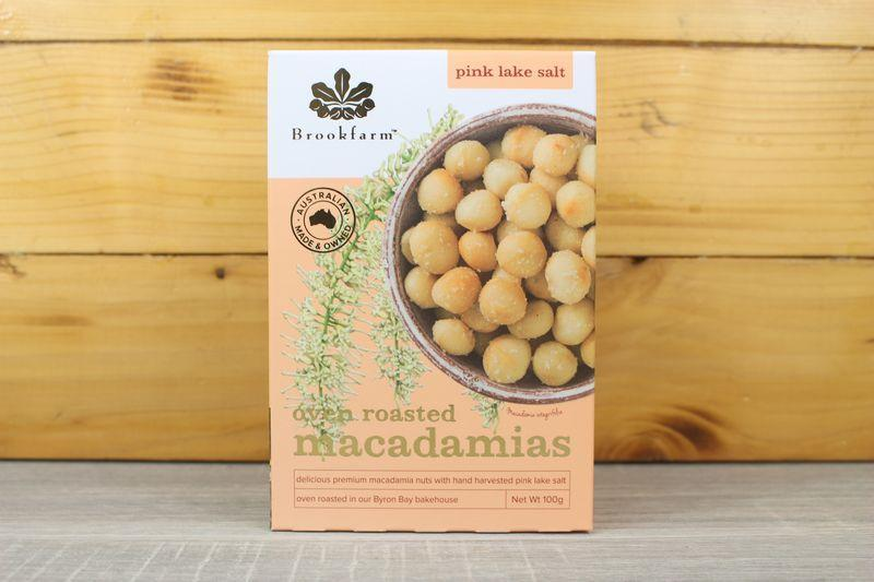 Brookfarm Pink Salt Roasted Macadamias Pantry > Dried Fruit & Nuts
