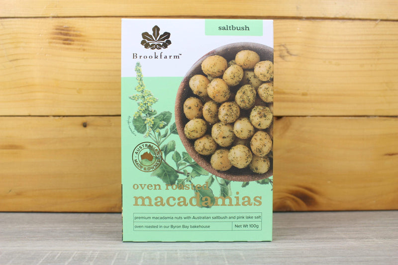 Brookfarm Roasted & Sea Salt Macadamias Nuts 100g Pantry > Dried Fruit & Nuts