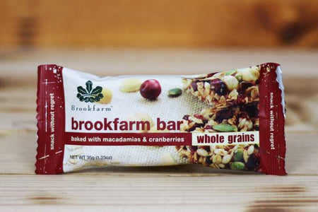 Brookfarm Wholegrain Bar 35g Pantry > Granola, Cereal, Oats & Bars