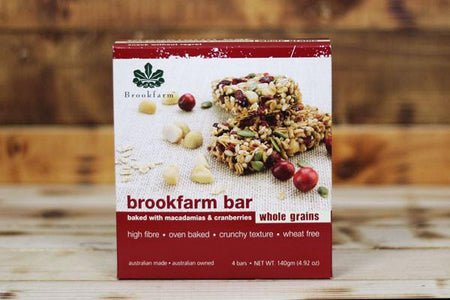 Brookfarm Wholegrain Multipack Bar 4 x 35g Pantry > Granola, Cereal, Oats & Bars