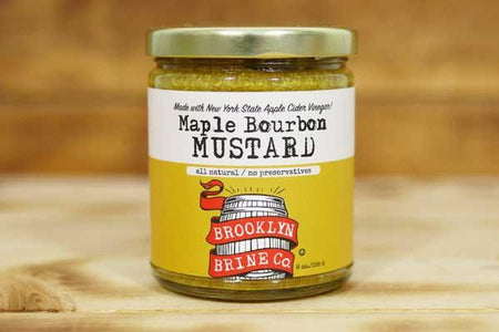 Brooklyn Brine Co. Maple Bourbon Mustard 255g Pantry > Condiments