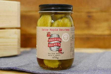 Brooklyn Brine Co. Spicy Maple Bourbon Pickle 475g Pantry > Antipasto, Pickles & Olives