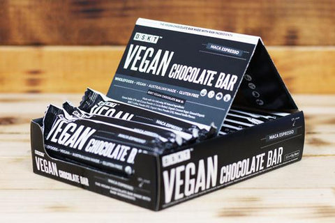 Vegan Chocolate Bar Coconut Chip 12 x 45g Box