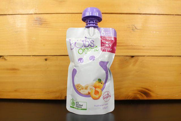 Bubs Banana & Apricot Power Porridge 120g Pantry > Baby Food & Kids Corner