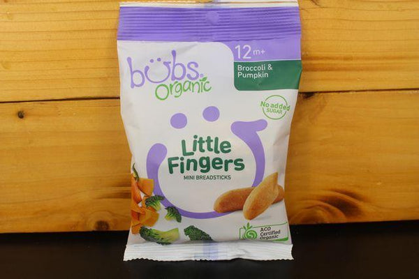 Broccoli & Pumpkin Little Fingers 30g