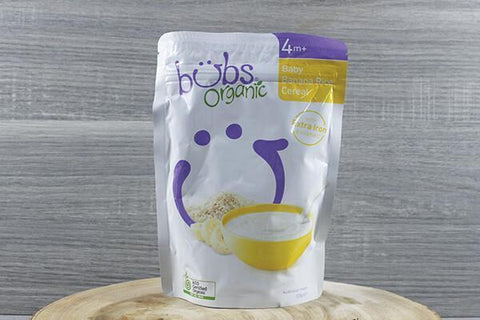 Bubs Org Baby Apple Porridge 125g