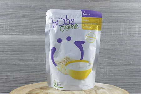 Bubs Bubs Org Baby Banana Rice Cereal 125g Pantry > Baby Food & Kids Corner