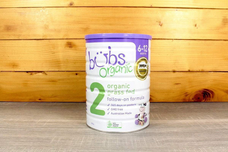 Bubs Organic Grass Fed Milk Follow-on Formula Stage 2 (800g) Pantry > Baby Food & Kids Corner