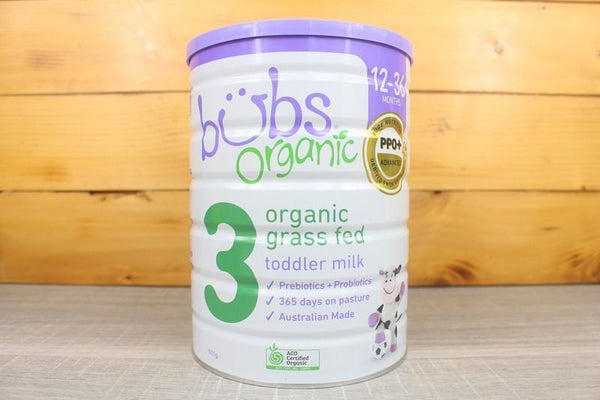 Bubs Organic Toddler Formula Milk Stage 3 Pantry > Baby Food & Kids Corner
