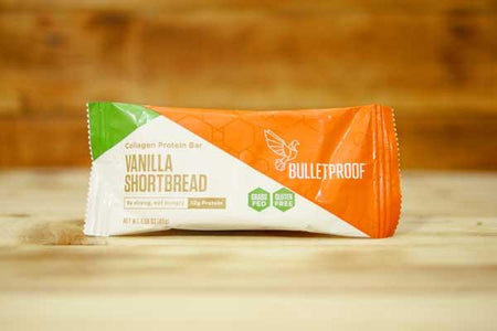 Bulletproof Vanilla Max Collagen Protein Bars 1.58oz Pantry > Granola, Cereal, Oats & Bars