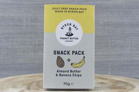 Byron Bay Bbay Snack Pack Almond Banana 70g Pantry > Cookies, Chips & Snacks