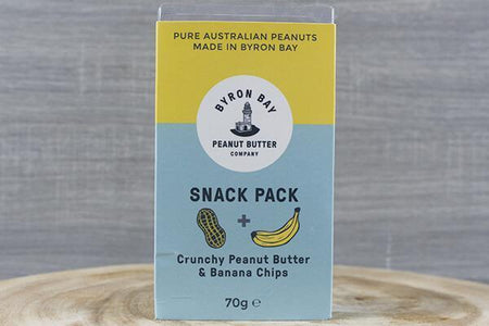 Byron Bay Bbay Snack Pack Peanut Banana 70g Pantry > Cookies, Chips & Snacks