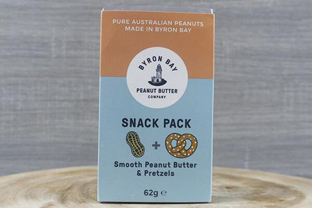 Byron Bay Bbay Snack Pack Peanut Pretzel 62g Pantry > Cookies, Chips & Snacks