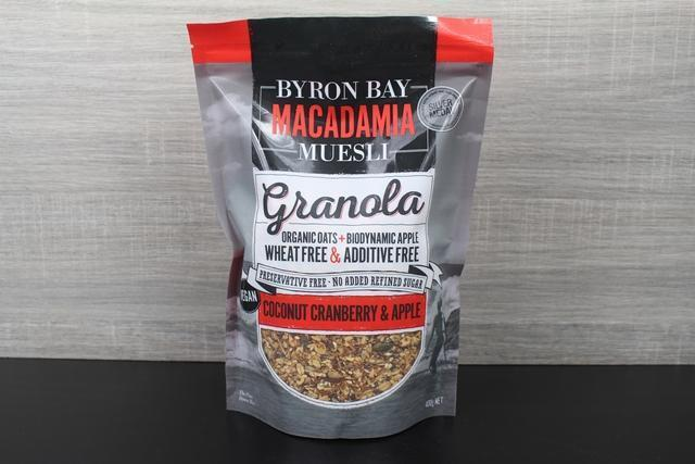 Byron Bay Coconut, Cranberry & Apple 400g Pantry > Granola, Cereal, Oats & Bars