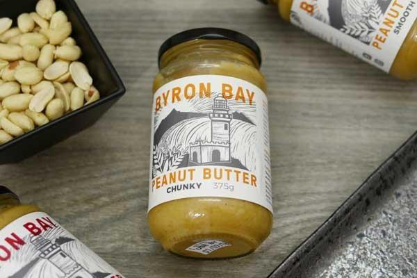 Byron Bay Peanut Butter Chunky Salted 375g Pantry > Nut Butters, Honey & Jam