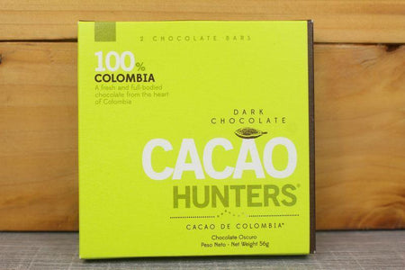 Cacao Hunters 100% Colombia Chocolate 56g Pantry > Confectionery