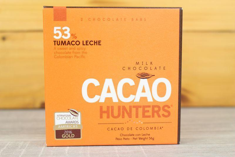 Cacao Hunters 53% Tumaco Milk Chocolate 56g Pantry > Confectionery
