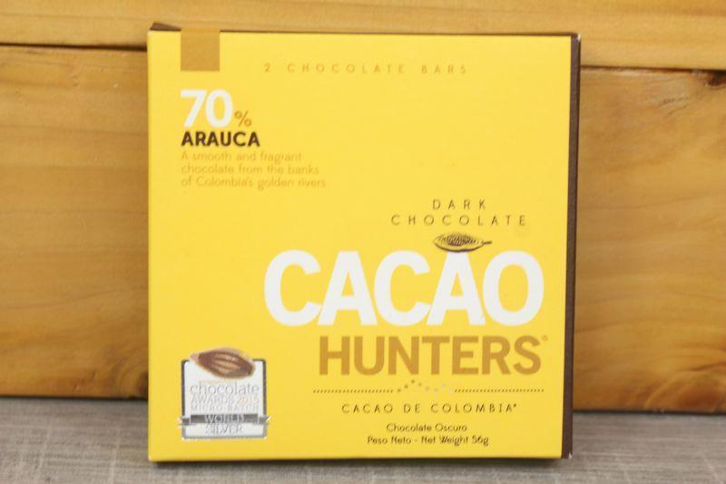 Cacao Hunters 70% Arauca Chocolate 56g Pantry > Confectionery