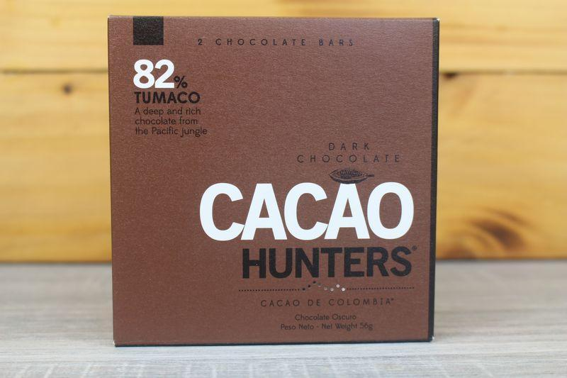 Cacao Hunters 82% Tumaco Chocolate 56g Pantry > Confectionery