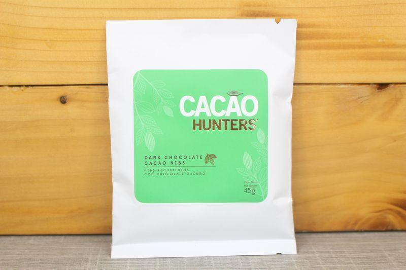 Cacao Hunters Dark Chocolate Cacao Nibs 45g Pantry > Confectionery