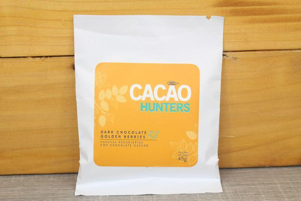 Cacao Hunters Dark Chocolate Golden Berries 45g Pantry > Confectionery