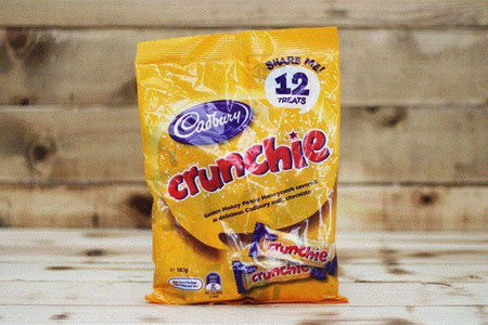 Cadbury Crunchie Share Pack 180g (12 count) Pantry > Confectionery