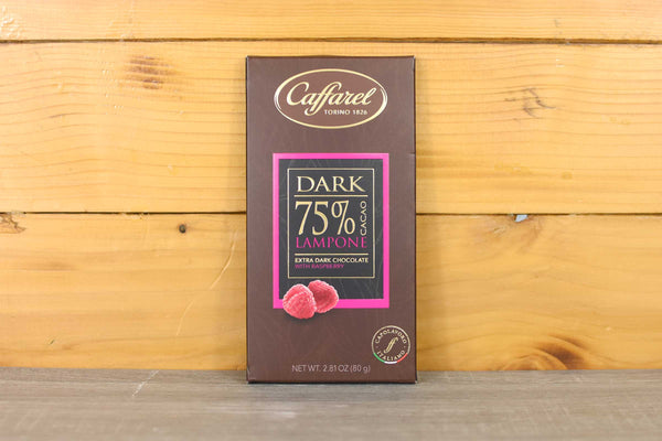 Caffarel 75% Raspberry Extra Dark Chocolate 80g Pantry > Antipasto, Pickles & Olives
