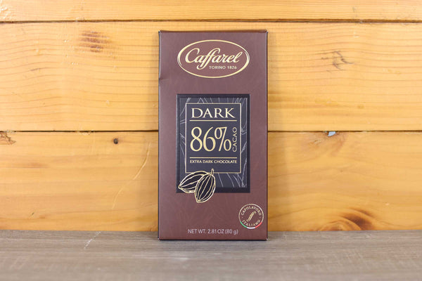 Caffarel 86% Extra Dark Chocolate 80g Pantry > Antipasto, Pickles & Olives