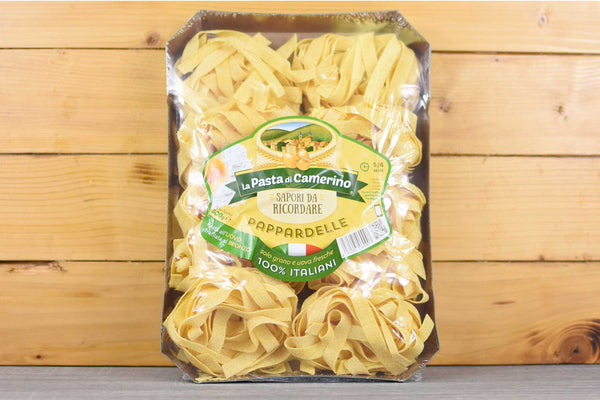 Camerino Egg Pappardelle 500g Pantry > Pasta, Sauces & Noodles