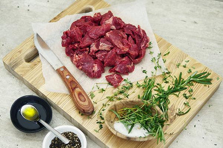 Cape Grim Grass-Fed Diced Beef* Meat > Beef