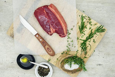 Cape Grim Grass-Fed Yearling Beef Rump Steak* Meat > Beef
