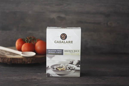 Casalare Gluten Free Brown Rice Twists 250g Pantry > Pasta, Sauces & Noodles
