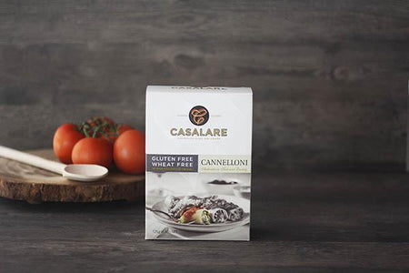 Casalare Gluten Free Cannelloni 125g Pantry > Pasta, Sauces & Noodles