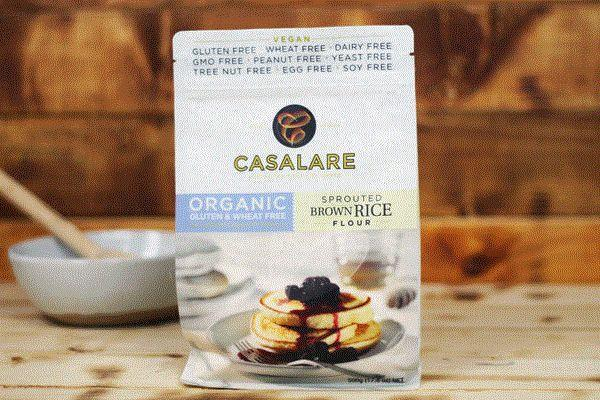 Casalare Gluten Free Organic Brown Rice Flour Sprouted 500g Pantry > Baking & Cooking Ingredients