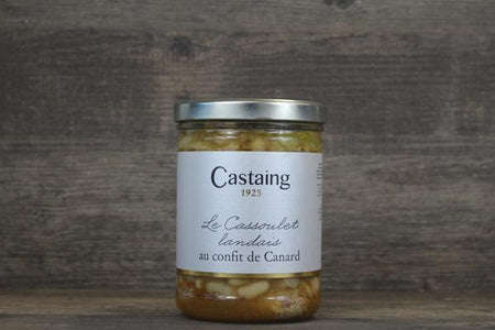 Castaing Castaing Cassoulet With Duck Confit Pantry > Canned Goods