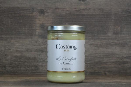 Castaing Castaing Duck Confit 2 Legs Pantry > Canned Goods