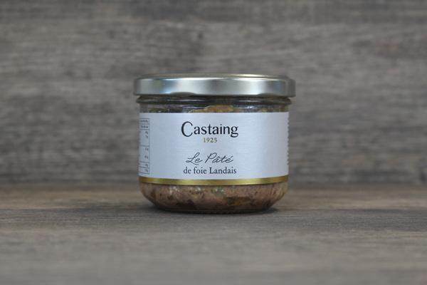 Castaing Castaing Landes Style Liver Pate Pantry > Canned Goods
