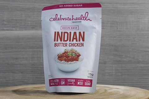 Celebrate Health C/H Butter Chicken 175g Pantry > Pasta, Sauces & Noodles