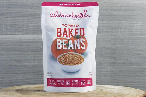 Celebrate Health C/H Tomato Baked Beans 220g Pantry > Pasta, Sauces & Noodles