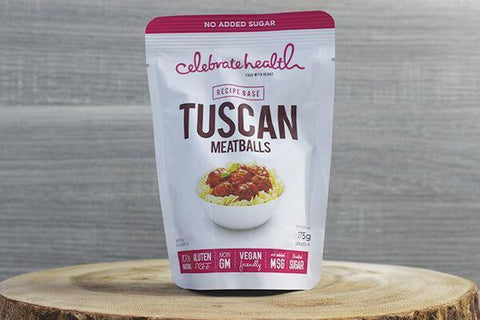 Celebrate Health C/H Tuscan Meatballs 175g Pantry > Pasta, Sauces & Noodles