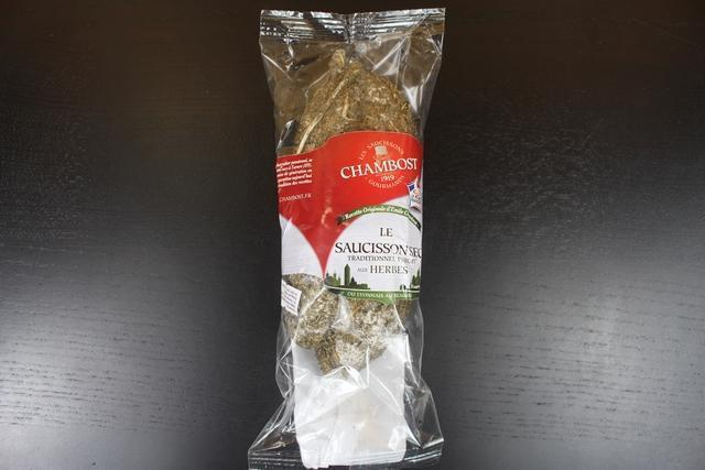 Chambost Chambost saucisson traditional with herbs 250gm Pantry >
