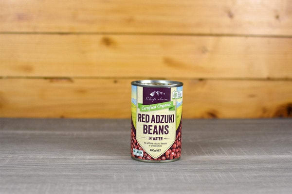 Chef's Choice Organic Adzuki Beans in water 400g Pantry > Canned Goods