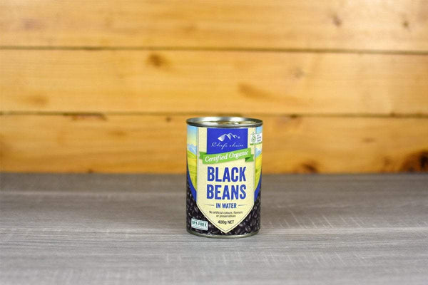 Chef's Choice Organic Black Beans in water 400g Pantry > Canned Goods