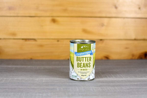 Chef's Choice Organic Butter Beans in water 400g Pantry > Canned Goods