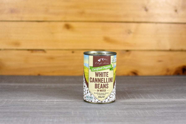 Chef's Choice Organic Cannellini Beans 400g Pantry > Canned Goods