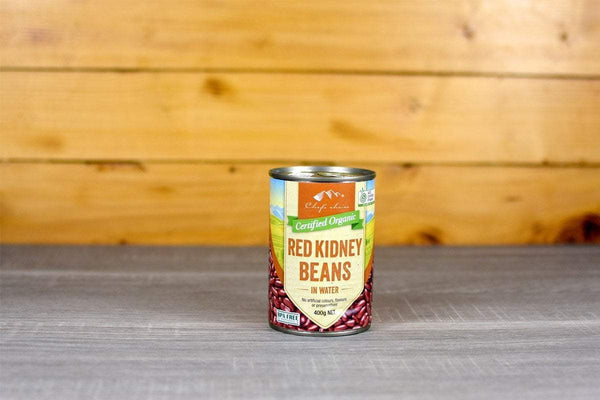 Chef's Choice Organic Red Kidney Beans 400g Pantry > Canned Goods